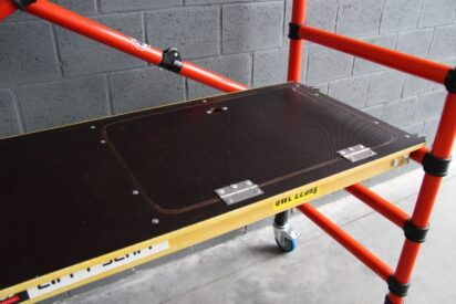 platform met luik